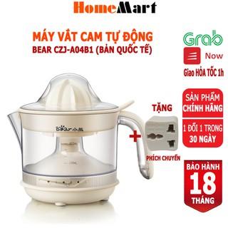 Máy vắt cam Bear CZJ-A04B1, dung tích 400ml (Hàng chính hãng 1 đổi 1 trong 30 ngày, bảo hành 18 tháng) - HomeMart