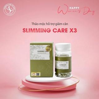 Slimming care x3 thảo mộc giảm cân an toàn-hiệu quả thumbnail