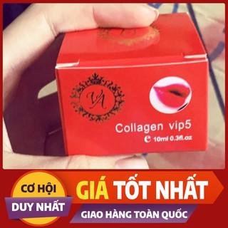dưỡng môi colgen vip5