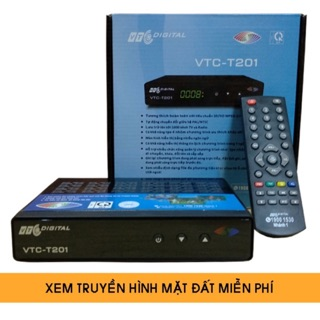 Đầu thu kỹ thuật số DVB T2 cũ các loại