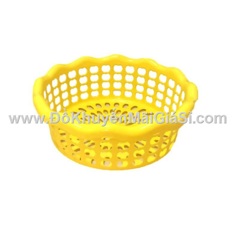 Rổ nhựa tròn Tân Lập Thành kiểu lượn sóng, Knorr tặng - Kt: (25.5 x 25.5 x 9.5) cm. - 3079963 , 1128639584 , 322_1128639584 , 7000 , Ro-nhua-tron-Tan-Lap-Thanh-kieu-luon-song-Knorr-tang-Kt-25.5-x-25.5-x-9.5-cm.-322_1128639584 , shopee.vn , Rổ nhựa tròn Tân Lập Thành kiểu lượn sóng, Knorr tặng - Kt: (25.5 x 25.5 x 9.5) cm.