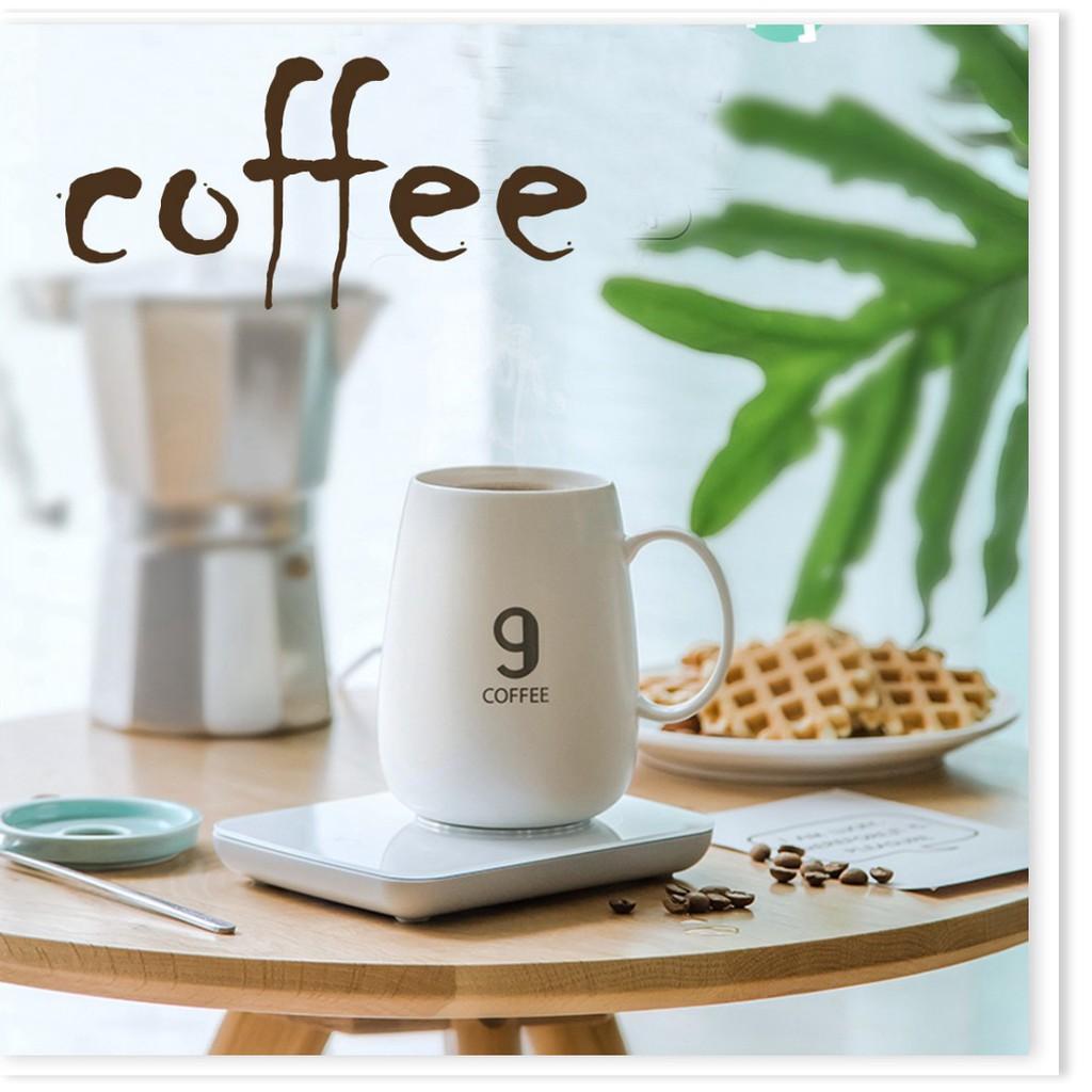 Máy hâm nóng cà phê, sữa - Máy hâm nóng đồ uống mini 16.5x12x2.8cm 9287 |  Shopee Việt Nam