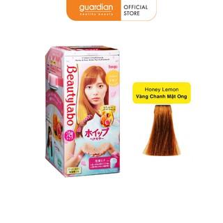 Kem Nhuộm Tạo Bọt Beauty Labo Màu Vàng Chanh Honey Lemon 125ml thumbnail