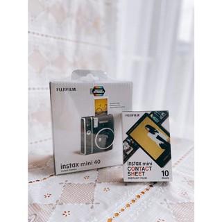 Máy ảnh Fujifilm instax Mini 40 [TẶNG KÈM 10 FILM CONTACT SHEET]