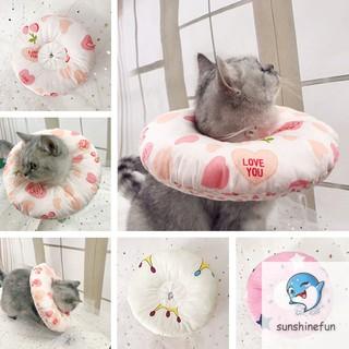 1 Pcs Pet Dog Cat Protective Cover Collar Neck Anti-Bite Soft Anti-Scratch Recovery