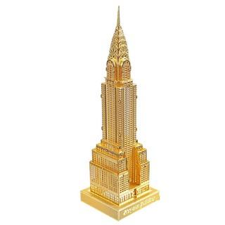Mô hình lắp ráp kim loại Tòa nhà Chrysler New York Piececool p005-G