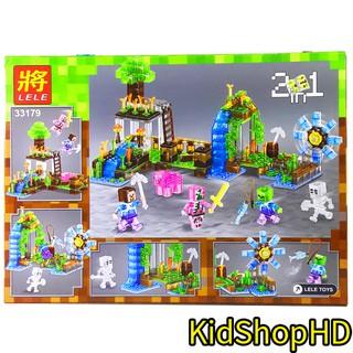 Bộ Lego Ninjago Xếp Hình Mineecraft My World Vòng Quay Vô Cực. 163 Chi Tiết. Lego Lắp Ráp Mineecraft My World Cho Bé
