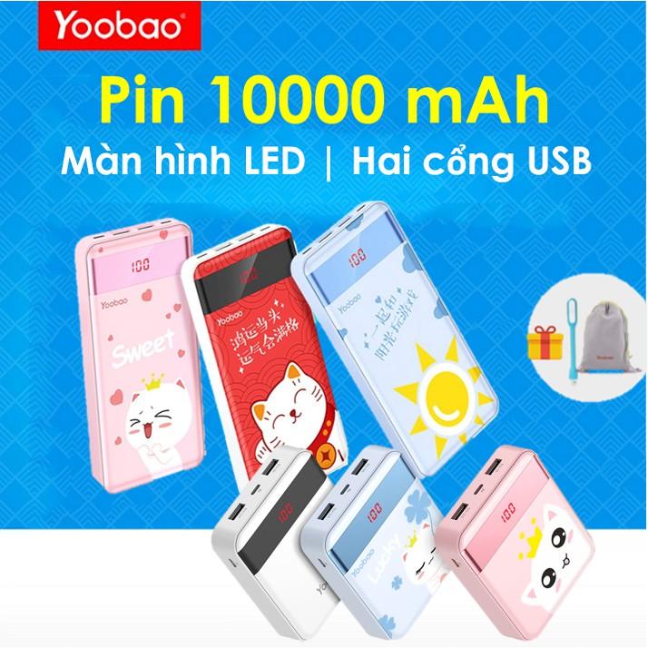 [CHÍNH HÃNG] Pin sạc dự phòng Yoobao P10000L 10000mAh -Pin dự phòng Yoobao 10000 mAh S10-1- Sạc dự p - 2778067 , 1131368945 , 322_1131368945 , 400000 , CHINH-HANG-Pin-sac-du-phong-Yoobao-P10000L-10000mAh-Pin-du-phong-Yoobao-10000-mAh-S10-1-Sac-du-p-322_1131368945 , shopee.vn , [CHÍNH HÃNG] Pin sạc dự phòng Yoobao P10000L 10000mAh -Pin dự phòng Yoobao