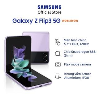 Hình ảnh Điện Thoại Samsung Galaxy Z Flip3 5G 256GB-2