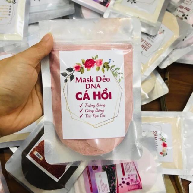 Mặt nạ hoa hồng DNA cá hồi(túi 100g)