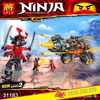 Lego Lắp Ghép Ninjago Master Of Spinjitzu LELE31183 / 620PCS (Chi Tiết)