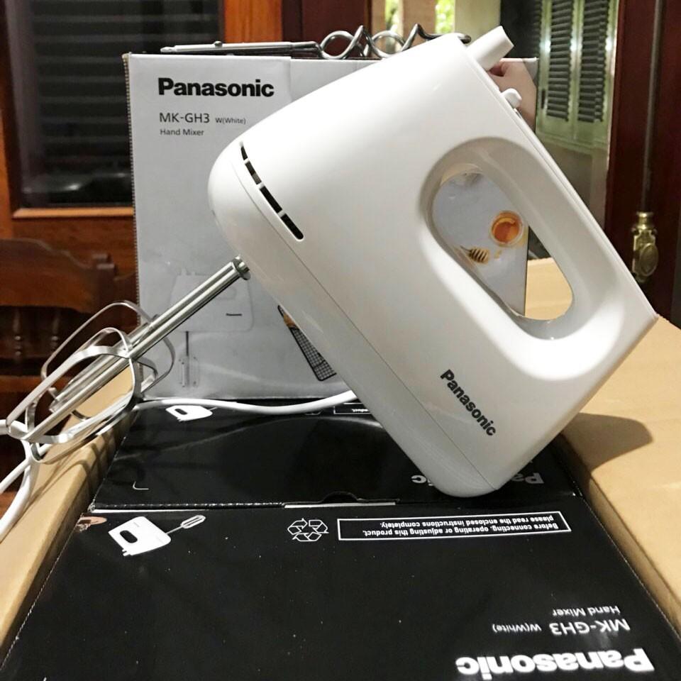 Máy đánh trứng cầm tay 5 tốc độ Panasonic MK-GH3WRA công suất 175W - Hàng  chính hãng, bảo hành 12 tháng giá cạnh tranh