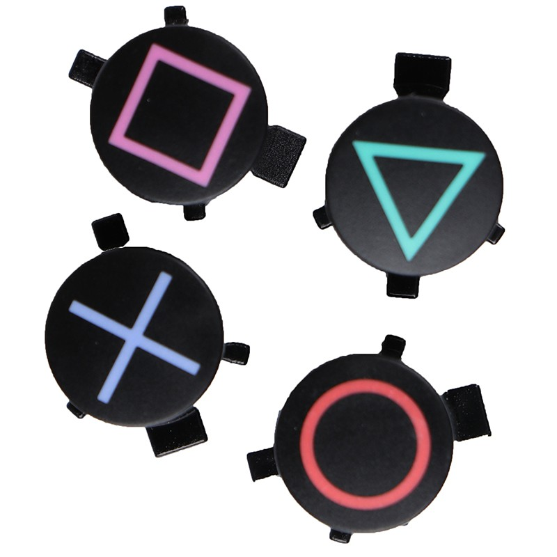 4pcs/set ABXY controller button repair part replacement for PS4