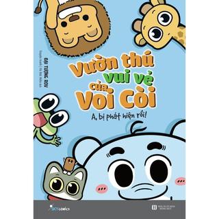 Sách - Vườn thú vui vẻ của Voi Còi A, bị phát hiện rồi thumbnail