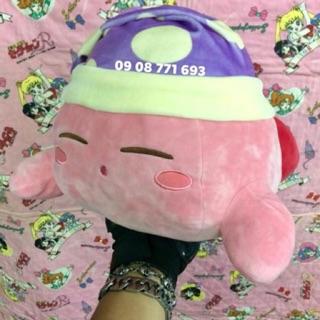 Thú bông Kirby nằm ngủ 33 x 21cm