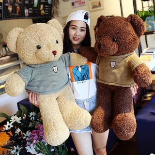 Gấu bông teddy lông xoắn hàng xuất Hàn (gấu bông quà tặng đẹp nhất)