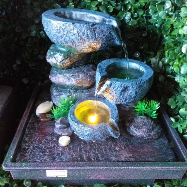 น้ำพุเสริมฮวงจุ้ย รุ่นไคซากิ
