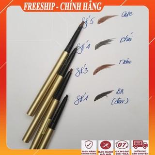 [ Freeship - BÁN TRI ÂN ] Chì kẻ mày 3D 2 đầu tiện lợi Bút kẻ lông mày đẹp chính hãng golden rose thumbnail
