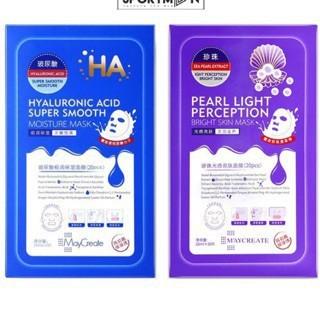 Mặt nạ HA MayCreate Xanh và Tím [mask HA] nội địa Trung (10 miếng) - 3360911 , 995294878 , 322_995294878 , 60000 , Mat-na-HA-MayCreate-Xanh-va-Tim-mask-HA-noi-dia-Trung-10-mieng-322_995294878 , shopee.vn , Mặt nạ HA MayCreate Xanh và Tím [mask HA] nội địa Trung (10 miếng)