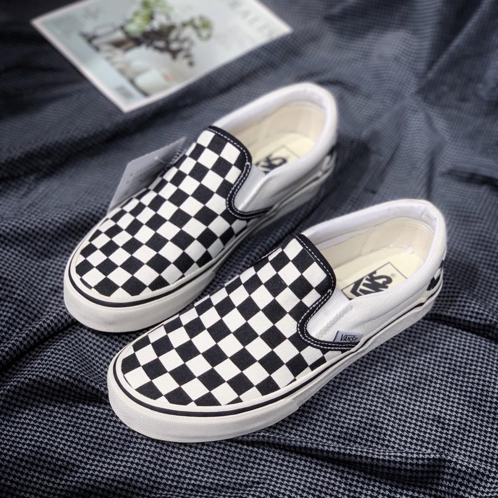 Giày thể thao Sneaker Slip On Vans Caro ( Full Box )