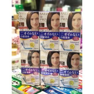 Thuốc nhuộm tóc Salon De Pro số ( 2,3,4,5,5K,6 )