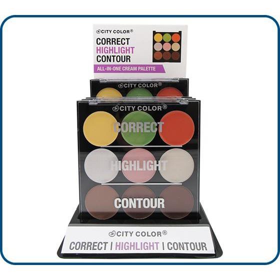 Bảng tạo khối - Che khuyết điểm - City Color Cosmetics 9 ô - 10012584 , 713215701 , 322_713215701 , 190000 , Bang-tao-khoi-Che-khuyet-diem-City-Color-Cosmetics-9-o-322_713215701 , shopee.vn , Bảng tạo khối - Che khuyết điểm - City Color Cosmetics 9 ô