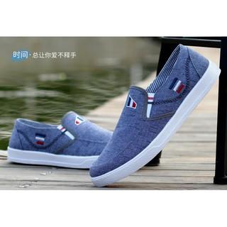 Giày Lười Nam, Giày Vải Thời Trang Lịch Lãm 005 thumbnail