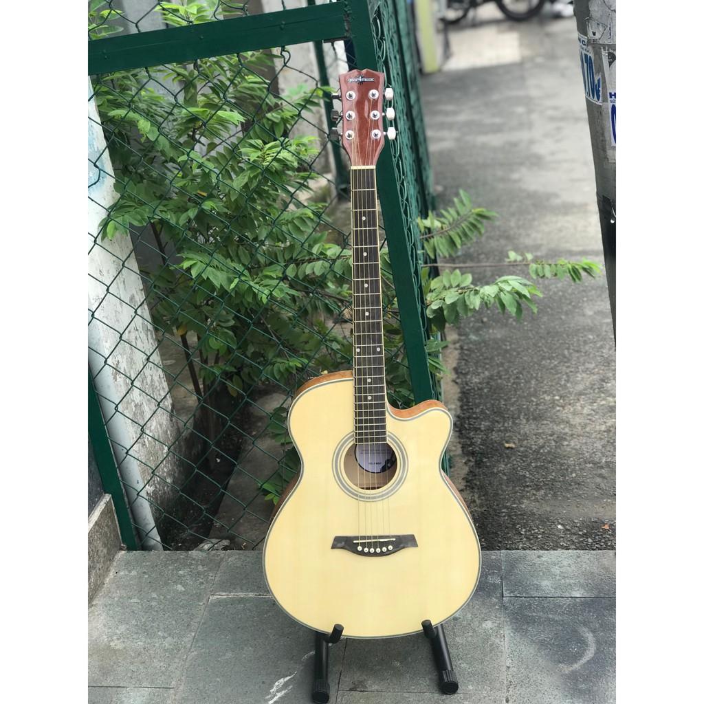 Đàn guitar có lắp eq kết nối amly