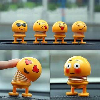 Combo 6 Thú nhún Emoji Lò Xo mini biểu cảm khác nhau