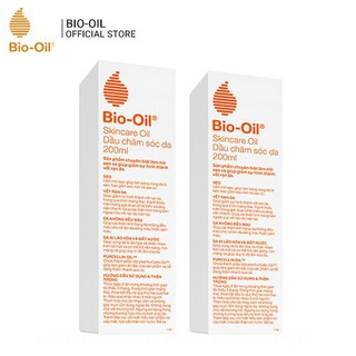 Combo 2 chai Bio-Oil Giảm rạn da và làm mờ sẹo - 200ml chai thumbnail