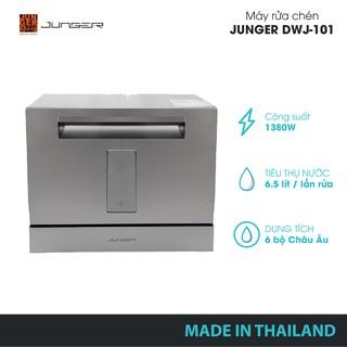 Máy rửa chén Junger DWJ-101-Công suất 1380W-Bảo hành 2 năm chính hãng-MADE IN THAILAND