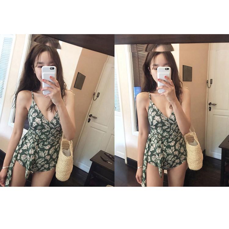 Bikini 1 Mảnh Họa Tiết - T2.21 (Ảnh Thật Ở Cuối)