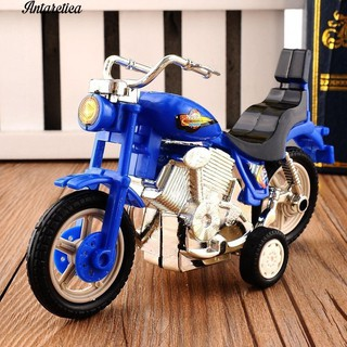 Mô hình xe máy – moto harley bánh đà chạy được