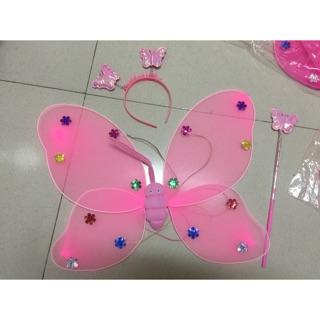 [Nhập 1212TOY giảm 10%]Cánh bướm hoá trang cho bé