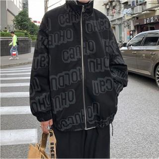 Áo Khoác Bóng Chày Form Rộng Phong Cách Hàn Quốc Năng Động