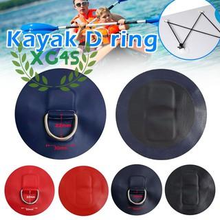Bộ 4 Miếng Đệm Chữ D Bằng Thép Không Gỉ Cho Thuyền Kayak Bơm Hơi thumbnail