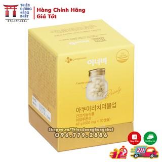 Viên uống cấp nước và collagen cho da Innerb Aqua Rich Hàn Quốc hộp 70Viên thumbnail