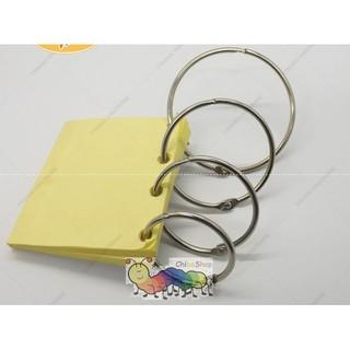 Set 5 móc còng/ khoen vòng làm sách vải đóng gáy sách