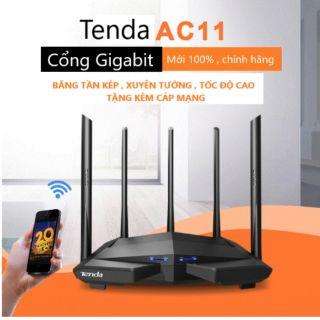 Yêu ThíchBộ Phát Wifi Tenda AC11 AC1200 MU-MIMO Anten 6dbi/cpu 1GHz/ram 128 DDR3. Ngôn ngữ Tiếng Anh.