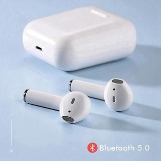 Tai nghe bluetooth i12 TWS 5.0 không dây bản Quốc tế âm thanh chuẩn HIFI chạm cảm ứng dùng cho IOS Android