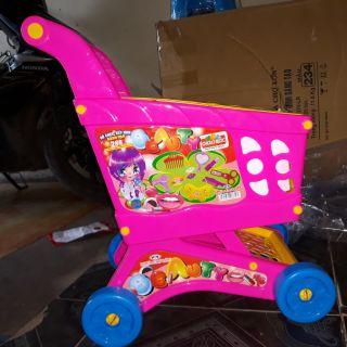 xe đẩy siêu thị chứa đồ chơi size đại( gạt sang để xem kích thước)