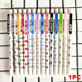 1PC SUGA Signature JIMIN Writing Tool Bangtan Boys BTS Ballpoint Pen
