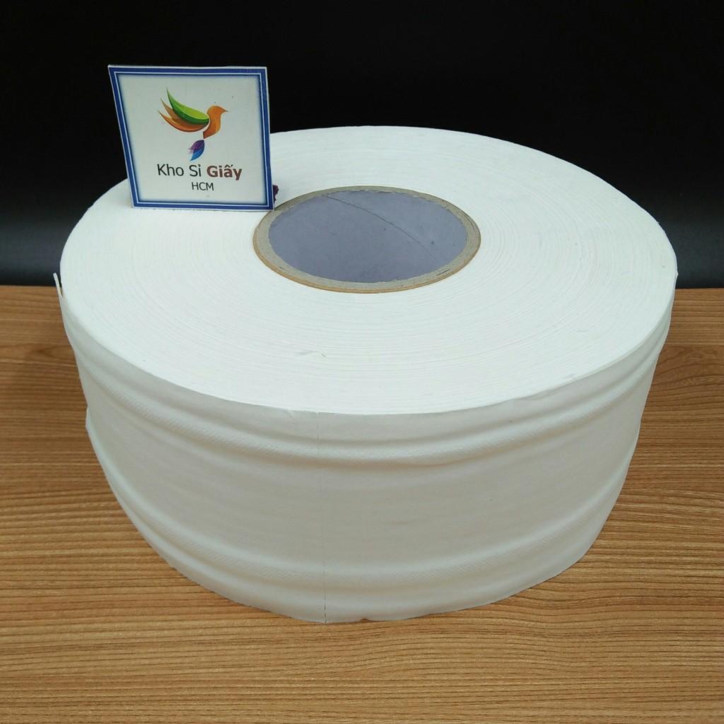 Giấy cuộn công nghiệp 700g cao cấp Chikool - Giấy vệ sinh loại 1
