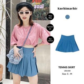 Chân váy tennis,chất liệu Denim, phong cách trẻ trung năng động Kuchimachic KUCV01 thumbnail