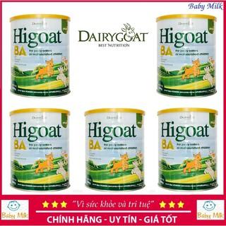 Combo 5 lon Sữa dê Higoat Ba (800g) thumbnail