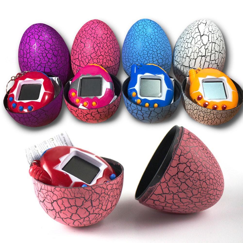 Electronic Dinosaur Egg Tumbler Digital Pets Handheld Game Machine Kid'S Toy
