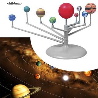 Solar System Nine Planets Planetarium Model Glow in The Dark Kids Science Toy