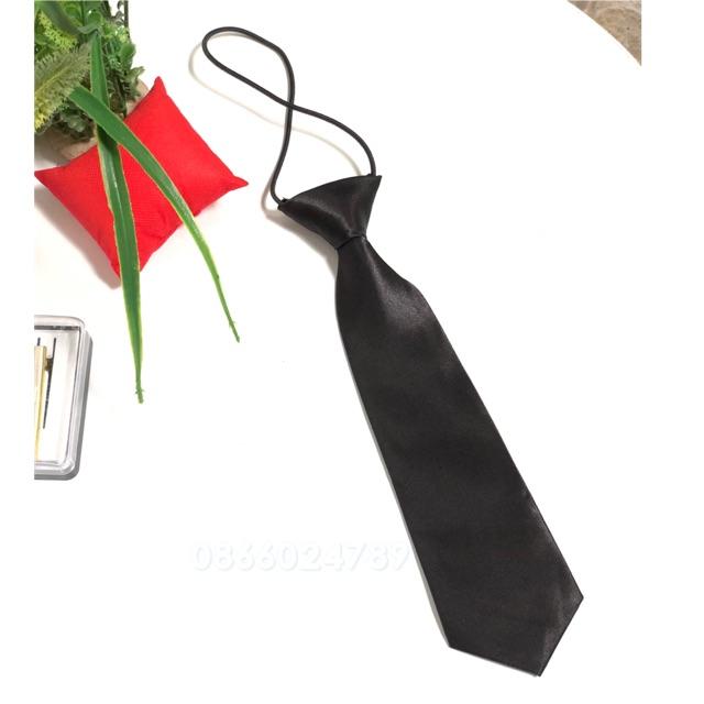 Cà vạt thắt sẵn bản nhỏ 6x26cm - Cà vạt nam nữ bản nhỏ - bán buôn