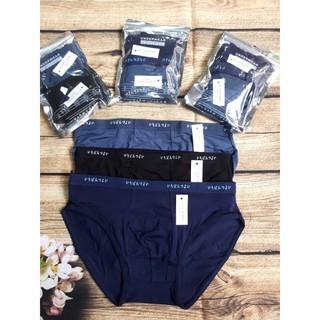 Yêu Thích( Anannshop ) Túi zíp 2 chiếc quần lót muji chéo xuất nhật dành cho nam giới