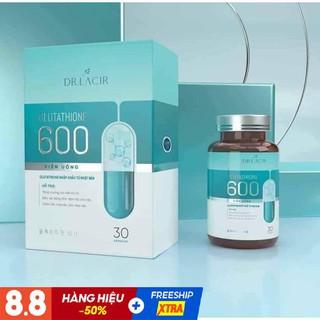 Viên Uống Trắng Da Mờ Nám GLUTATHIONE 600 ĐR LACIR